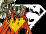 doomsday with superman cape