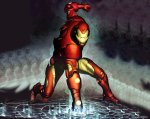 Comic Wall 1280-03 (Iron Man)