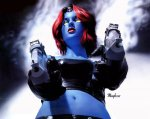 Comic Wall 1280-04 (Mystique)