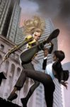 Black Canary vs Amanda Waller (The Wall)