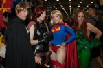 Luke Skywalker, Mara Jade, Supergirl & Poison Ivy