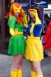 Marvel Girl & female Cyclops