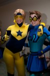 Female Booster Gold & Blue Beetle