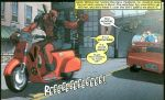 Deadpool's Scooter
