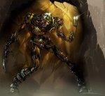 Zombie Wolverine Skeleton