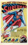superman paper airplane
