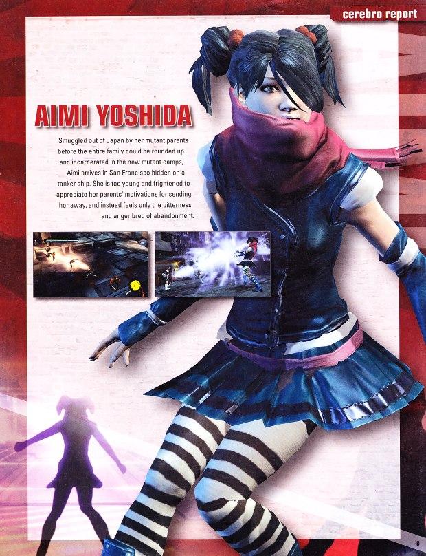 AimiYoshidaXmenDestiny02 2 Aimi Yoshida   X men Destiny
