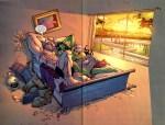 She-hulk and Juggernaut did the naughty