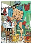 Peter Parker Washing Spider-Man's Costume