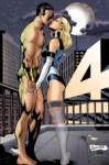 Namor Kisses Invisible Woman