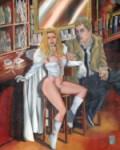 Emma Frost & John Constantine