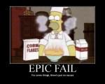 Demotivation – Epic Fail – Homer Simpson
