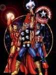 George Perez – Avengers Big 3
