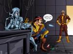Jocasta, Forge, & Hank Pym