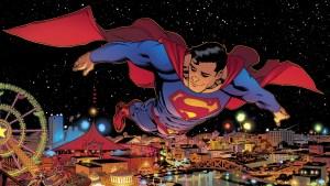 Superman smirking at the fair 300x169 Superman smirking at the fair