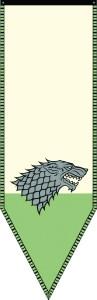 GAME OF THRONES HOUSE STARK BANNER WINTERFELL RECLAIMED VER 97x300 GAME OF THRONES HOUSE STARK BANNER WINTERFELL RECLAIMED VER