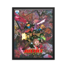 Young Justice #1 – DC Comics Framed Print