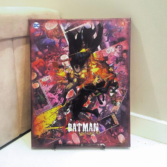 The One and Only Custom Variant Cover Canvas
