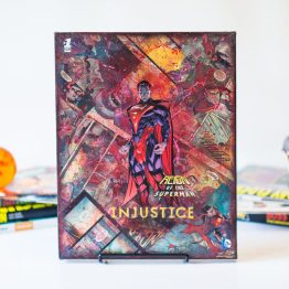 Injustice #1 – One of A Kind DC Comic Book Canvas