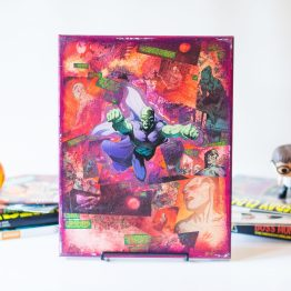 Martian Manhunter | One of A Kind Handmade DC Comic Book Canvas