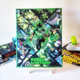 Green Lantern #0 – Simon Baz – One of A Kind DC Custom Variant Canvas