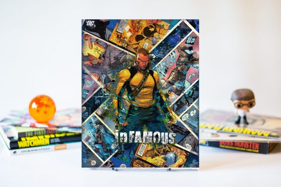 InFamous – One of A Kind DC Gamer Comic Canvas