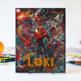 Loki #1 – Carnegized Variant – One of A Kind Comic Book Canvas