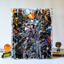Anti-Venom | 16″x20″ Handmade Marvel Comic Art Canvas