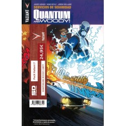 PACK VALIANT 07. QUANTUM AND WOODY + UNITY