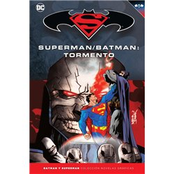 BATMAN Y SUPERMAN - COLECCIÓN NOVELAS GRÁFICAS NÚMERO 27: SUPERMAN/BATMAN: TORMENTO