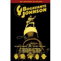 BOGAVANTE JOHNSON 5. EL FANTASMA DEL PIRATA Y LOS MONSTRUOS DE METAL DEL CENTRO DE LA CIUDAD