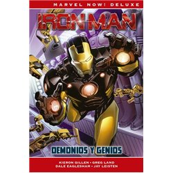 IRON MAN DE KIERON GILLEN 01: DEMONIOS Y GENIOS (MARVEL NOW! DELUXE)