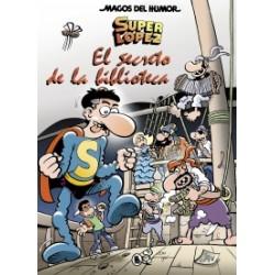 MAGOS DEL HUMOR SUPERLÓPEZ 199. EL SECRETO DE LA BIBLIOTECA