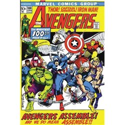 MARVEL FACSIMIL 07. THE AVENGERS 100