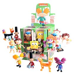 Nickelodeon Splat Minifiguras Action Vinyls 8 cm Wave 1