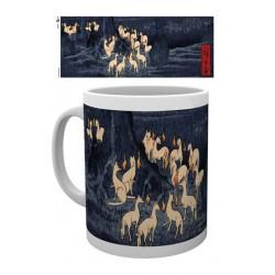 Japanese Art Taza New Years Eve Foxfire by Utagawa Hiroshige