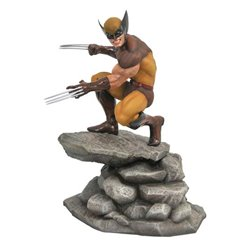 Marvel Gallery Estatua Brown Wolverine 23 cm