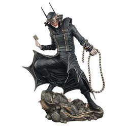 BATMAN WHO LAUGHS FIGURA 23 CM PVC DIORAMA DC COMIC GALLERY UNIVERSO DC