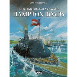 LAS GRANDES BATALLAS NAVALES. 6. HAMPTON ROADS
