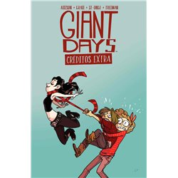 GIANT DAYS. CREDITOS EXTRA