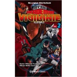 My Hero Academia Vigilante Illegals nº 02
