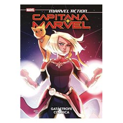 MARVEL ACTION. CAPITANA MARVEL 01. GATASTROFE COSMICA
