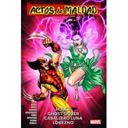 ACTOS DE MALDAD 02. HULKA, GHOST-SPIDER, CABALLERO LUNA, LOBEZNO