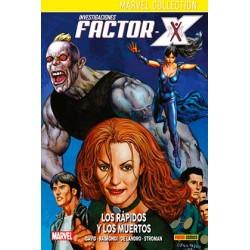 INVESTIGACIONES FACTOR-X 03. LOS RAPIDOS Y LOS MUERTOS