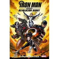 IRON MAN 2020. REVOLUCION ROBOT: FUERZA DE CHOQUE