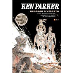 KEN PARKER NÚM. 31: DONDE MUEREN LOS TITANES/EL ALIENTO Y EL SUEÑO/UN HÁLITO DE HIELO