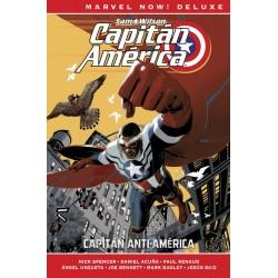 CAPITAN AMERICA DE NICK SPENCER 01. CAPITAN ANTI-AMERICA (MARVEL NOW! DELUXE)