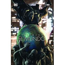 BATMAN: EL MUNDO – PORTADA LEE BERMEJO