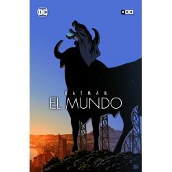 BATMAN: EL MUNDO – PORTADA PACO ROCA