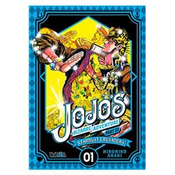 JOJO'S BIZARRE ADVENTURE PARTE 3: STARDUST CRUSADERS 01
